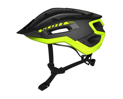 CAPACETE  SCOTT FUGA PLUS black/yellow rc