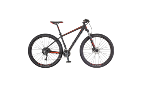 SCOTT ASPECT 940 BLACK/RED BIKE_2018