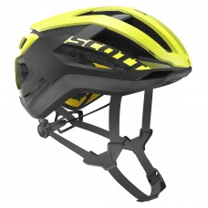 CAPACETE  SCOTT CENTRIC PLUS black/yellow rc