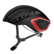 CAPACETE  SCOTT CADENCE PLUS DARK GREY/RED