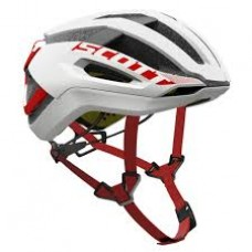 CAPACETE SCOTT CENTRIC PLUS white/red