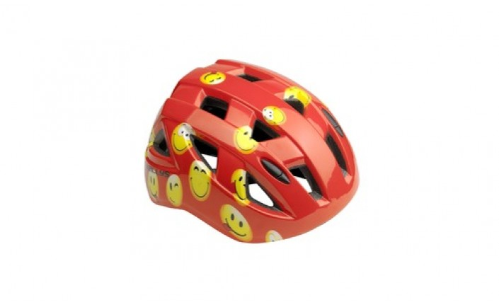 CAPACETE KEELYS SMARTY RED SMILE KID´S