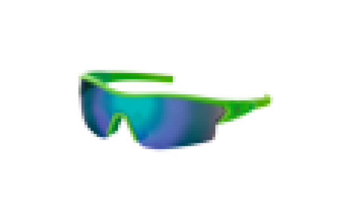OCULOS SCOTT LEAP green matt/green chrome+clear