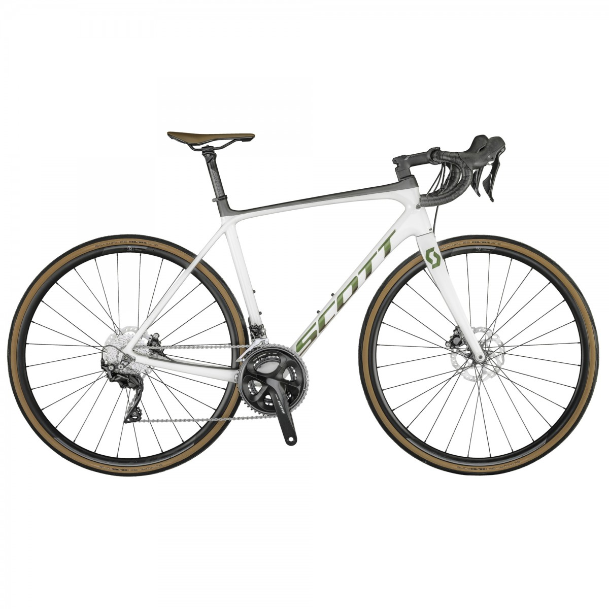 Bicicleta SCOTT Addict 20 disc_2021 pearl white