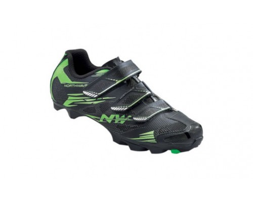 SAPATOS NW SCORPIUS 2 black/green