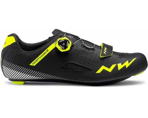 SAPATOS EST NW CORE PLUS BLK/YELLOW FLUO