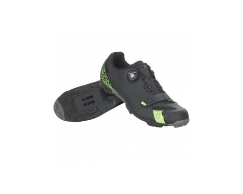 SAPATOS SCOTT MTB COMP BOA matt black/neon green