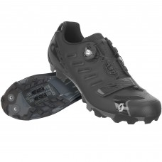 sapatos SCOTT MTB TEAM BOA matt black/gloss black