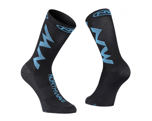Meias NW Extreme Air BLK/BLU